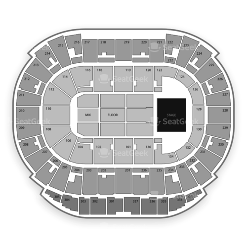Northlands Coliseum Seating Chart Concert