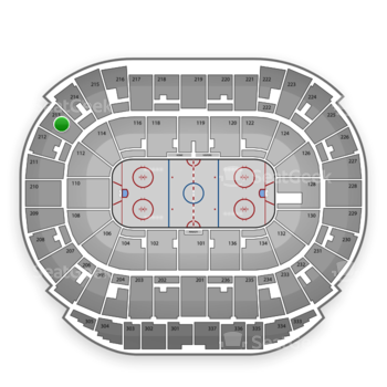 Edmonton Oilers at Rexall Place Section 213 View
