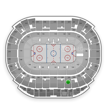 Edmonton Oilers at Rexall Place Section 235 View