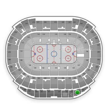 Edmonton Oilers at Rexall Place Section 334 View
