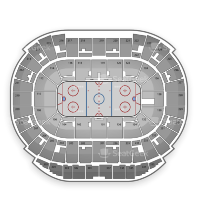Rexall Place seating chart Edmonton Oilers