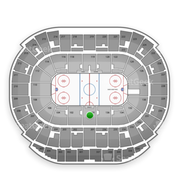 Edmonton Oilers at Northlands Coliseum Section 101 View