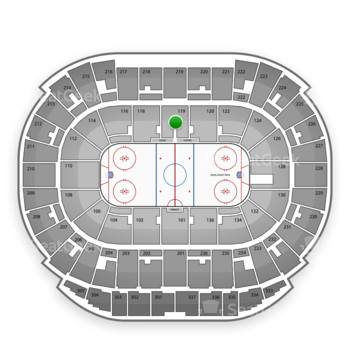 Edmonton Oilers at Northlands Coliseum Section 119 View