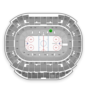 Edmonton Oilers at Northlands Coliseum Section 120 View