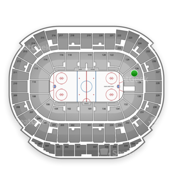 Edmonton Oilers at Northlands Coliseum Section 126 View