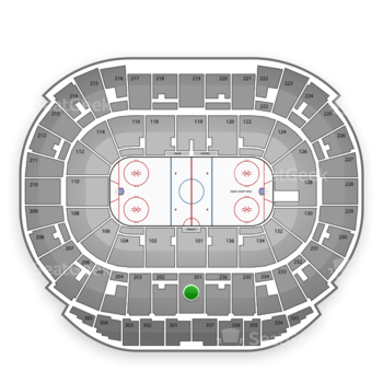 Edmonton Oilers at Northlands Coliseum Section 201 View