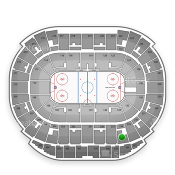 Edmonton Oilers at Northlands Coliseum Section 234 View