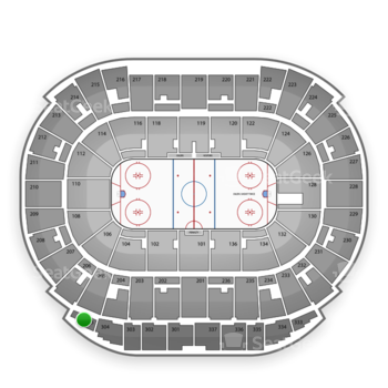 Edmonton Oilers at Northlands Coliseum Section 305 View