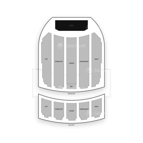 Copernicus Center Seating Chart Concert