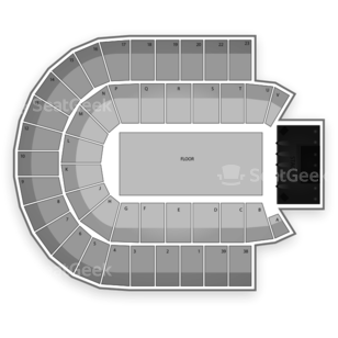 Credit Union Centre Seating Chart Concert