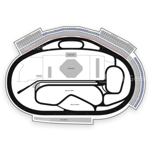 Las Vegas Motor Speedway Seating Chart Auto Racing