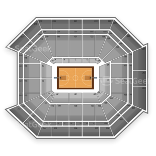 Pittsburgh Panthers Basketball Seating Chart