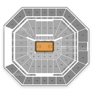 Pittsburgh Panthers Womens Basketball Seating Chart