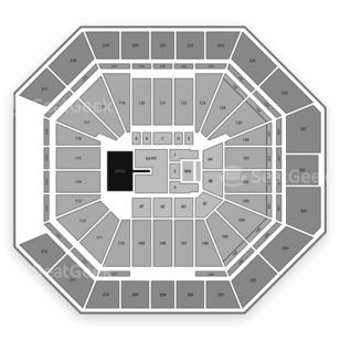 Petersen Events Center Seating Chart Concert