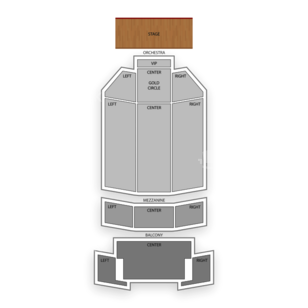 Fox Performing Arts Center Seating Chart Concert