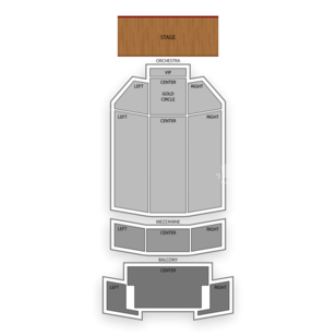 Fox Performing Arts Center Seating Chart Family