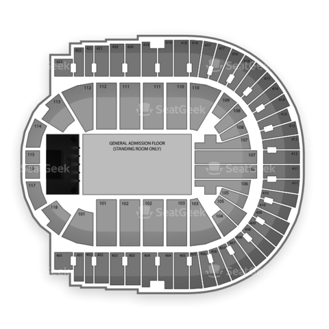 O2 Arena - London seating chart Nine Inch Nails