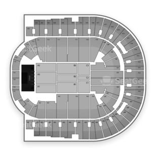 The O2 Seating Chart Dance Performance Tour