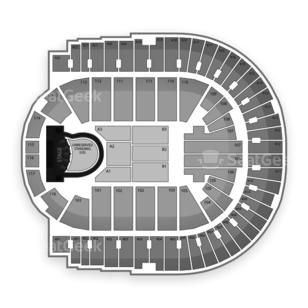 The O2 Seating Chart Concert