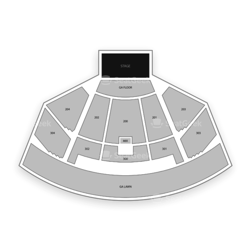 Merriweather Post Pavilion Seating Chart Concert