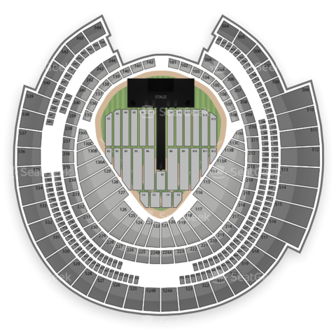Rogers Centre seating chart One Direction