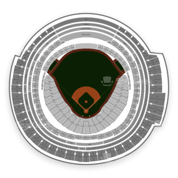 Toronto Blue Jays at Rogers Centre 113 D View
