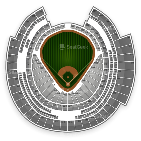 Rogers Centre seating chart Toronto Blue Jays