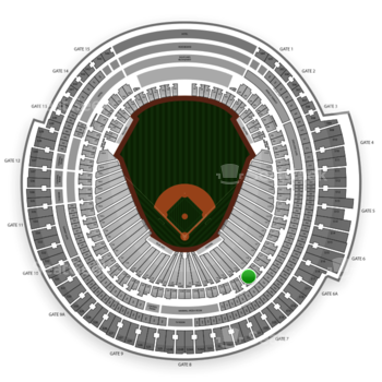 MLB at Rogers Centre Section 219 View