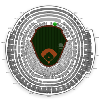 MLB at Rogers Centre Section 102 View