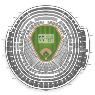 Rogers Centre Seating Chart Auto Racing