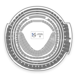 Rogers Centre Seating Chart Dance Performance Tour