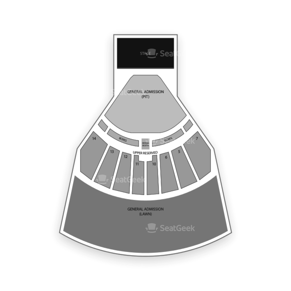 Providence Medical Center Amphitheater Seating Chart Music Festival