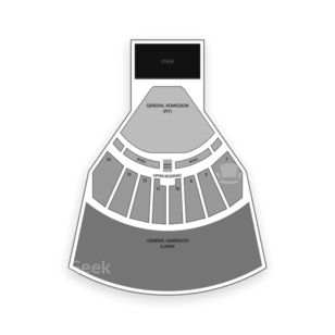 Cricket Wireless Amphitheater - KS Seating Chart Concert
