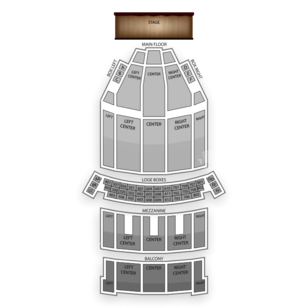 State Theatre - The Playhouse Square Center Seating Chart Classical
