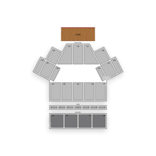 Toyota Oakdale Theatre Seating Chart Broadway Tickets National