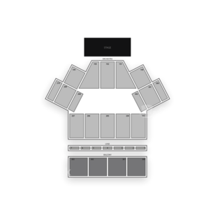 Toyota Oakdale Theatre Seating Chart Comedy