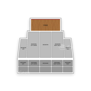 Pantages Theatre Seating Chart Comedy