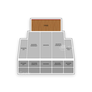 Pantages Theatre Seating Chart Concert