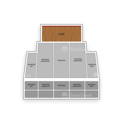 Pantages Theatre seating chart The Phantom of the Opera