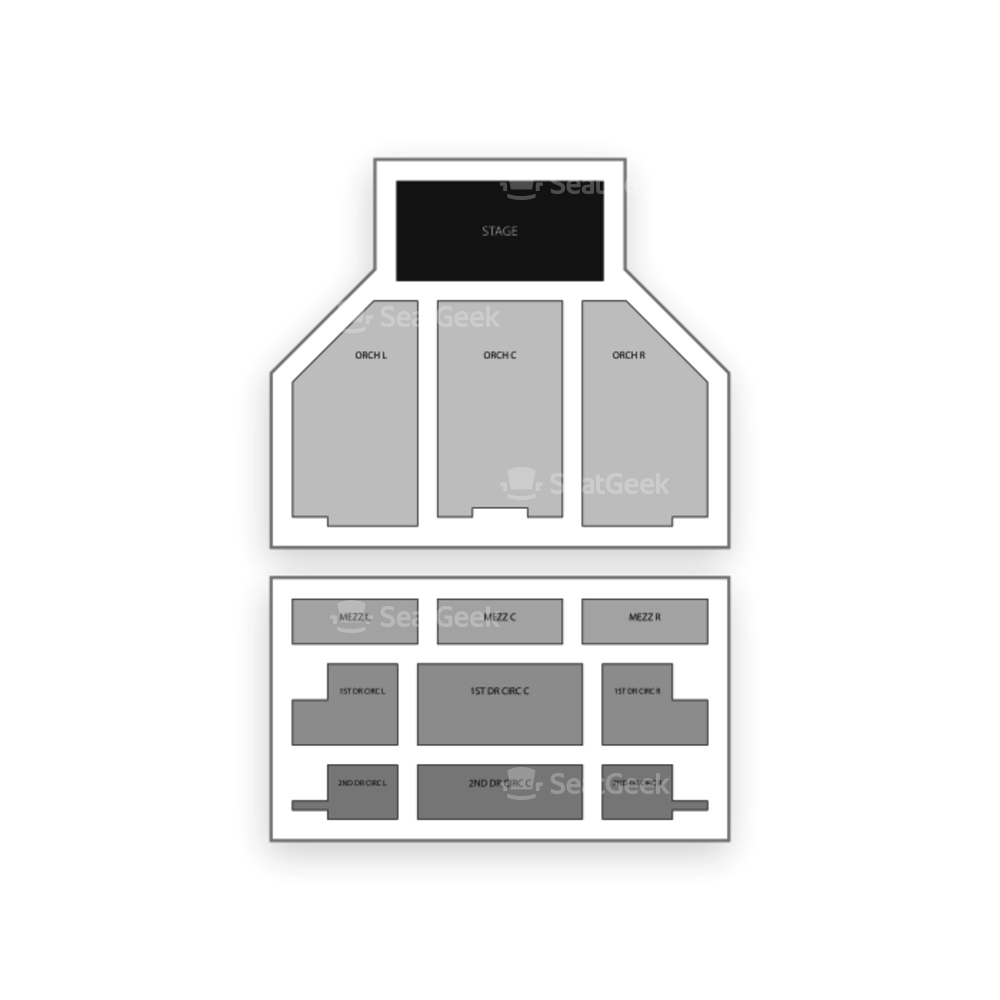 Carpenter Theatre Seating Chart Dance Performance Tour