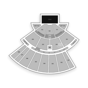 Oak Mountain Amphitheatre Seating Chart Concert