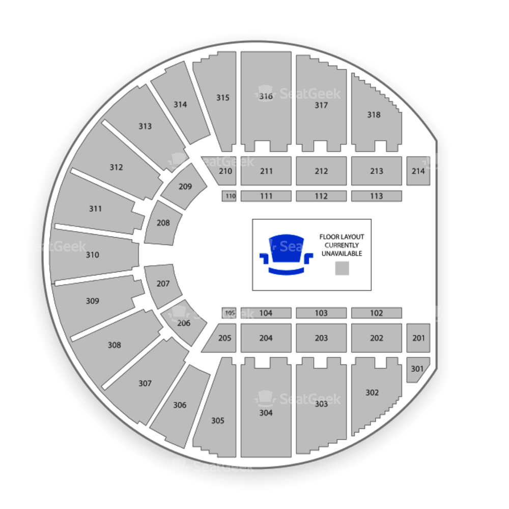 Fort Worth Convention Center Seating Chart Concert