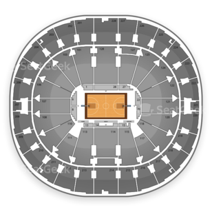 Key Arena Seating Chart NCAA Basketball