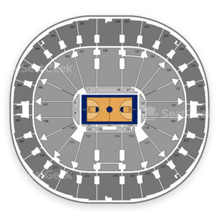 Seattle Redhawks Basketball Seating Chart