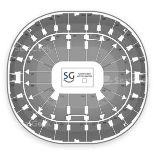 Key Arena Seating Chart Theater