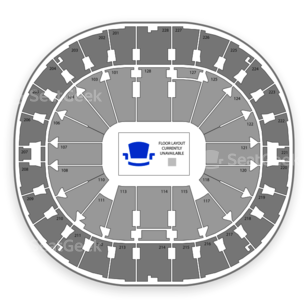 Key Arena Seating Chart Sports
