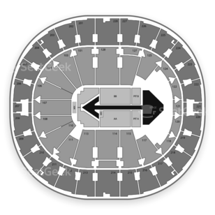 Key Arena Seating Chart Concert
