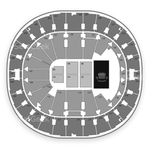 Key Arena Seating Chart Comedy