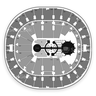 Key Arena Seating Chart Classical
