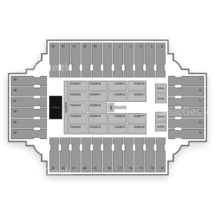 Fargodome Seating Chart Concert